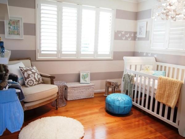 tendencia para la habitación del bebé