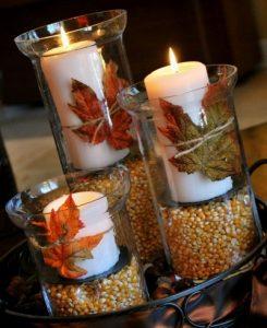 decorar con velas aromaticas