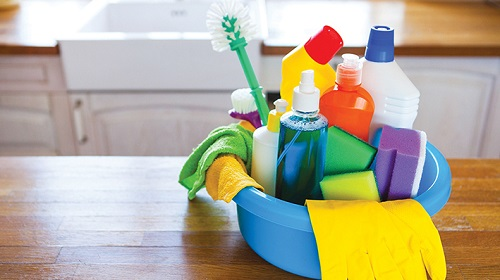 limpieza del hogar en primavera